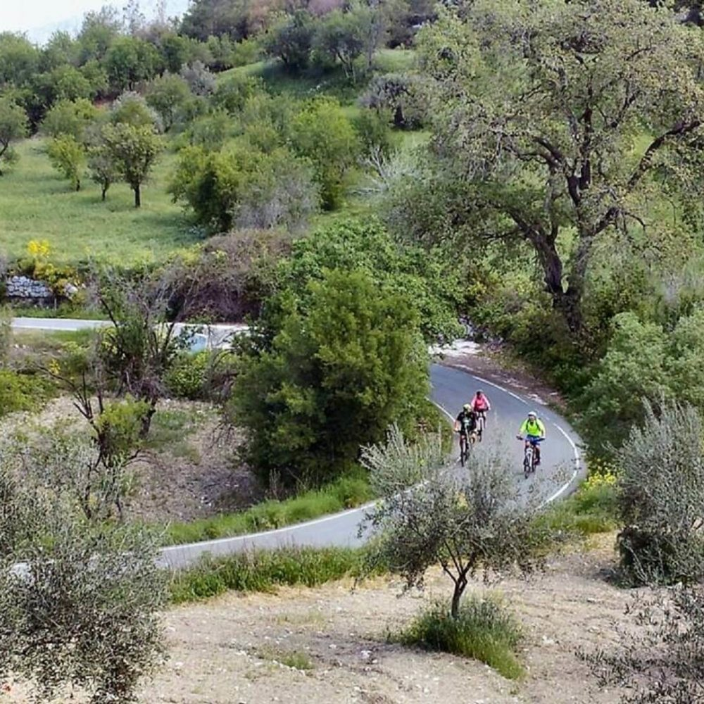 Things to do in Paphos- Cycling in beautiful countryside around ithaki House