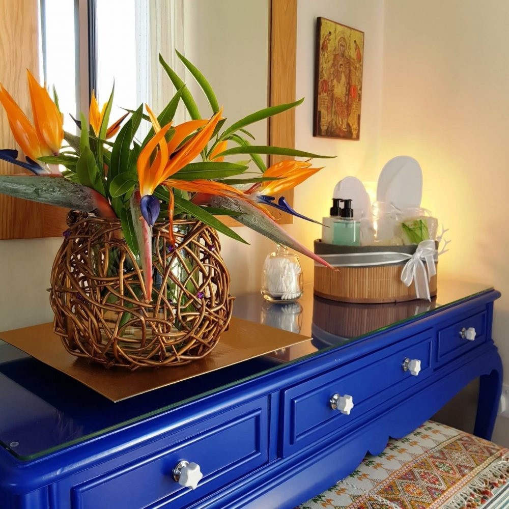Ithaki House is beautifully Decorated throughout