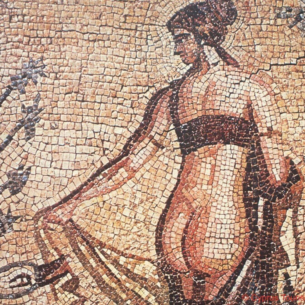 Leda Mosaic Paphos