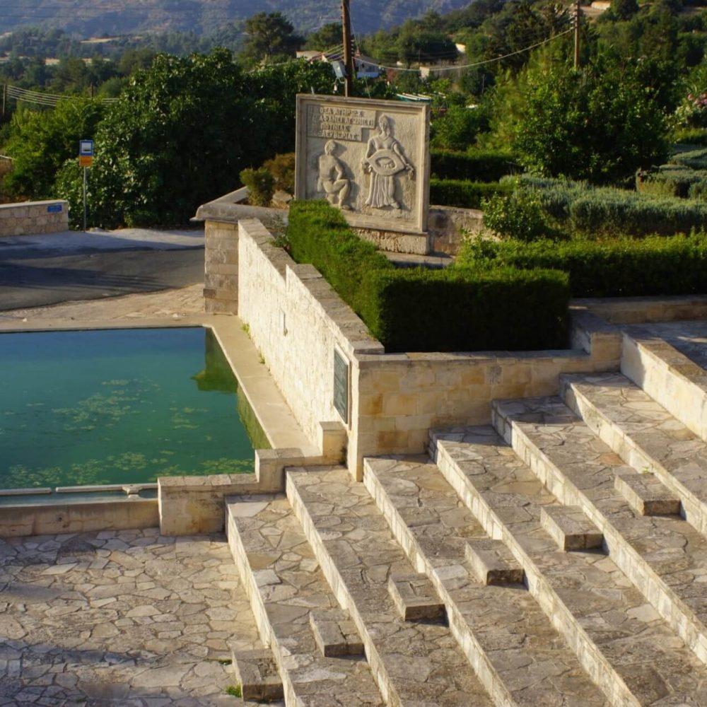 Lysos Village Fountains