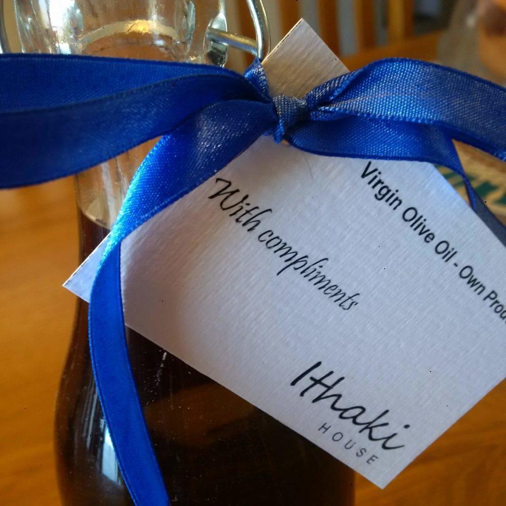 Ithaki House Own Produce Virgin Olive Oil