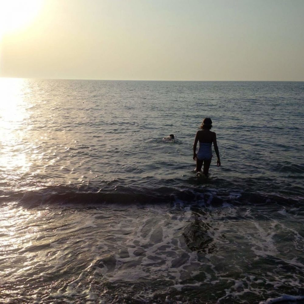 Sunset Swimming at Argaka Beach 15 minutes from Ithaki House