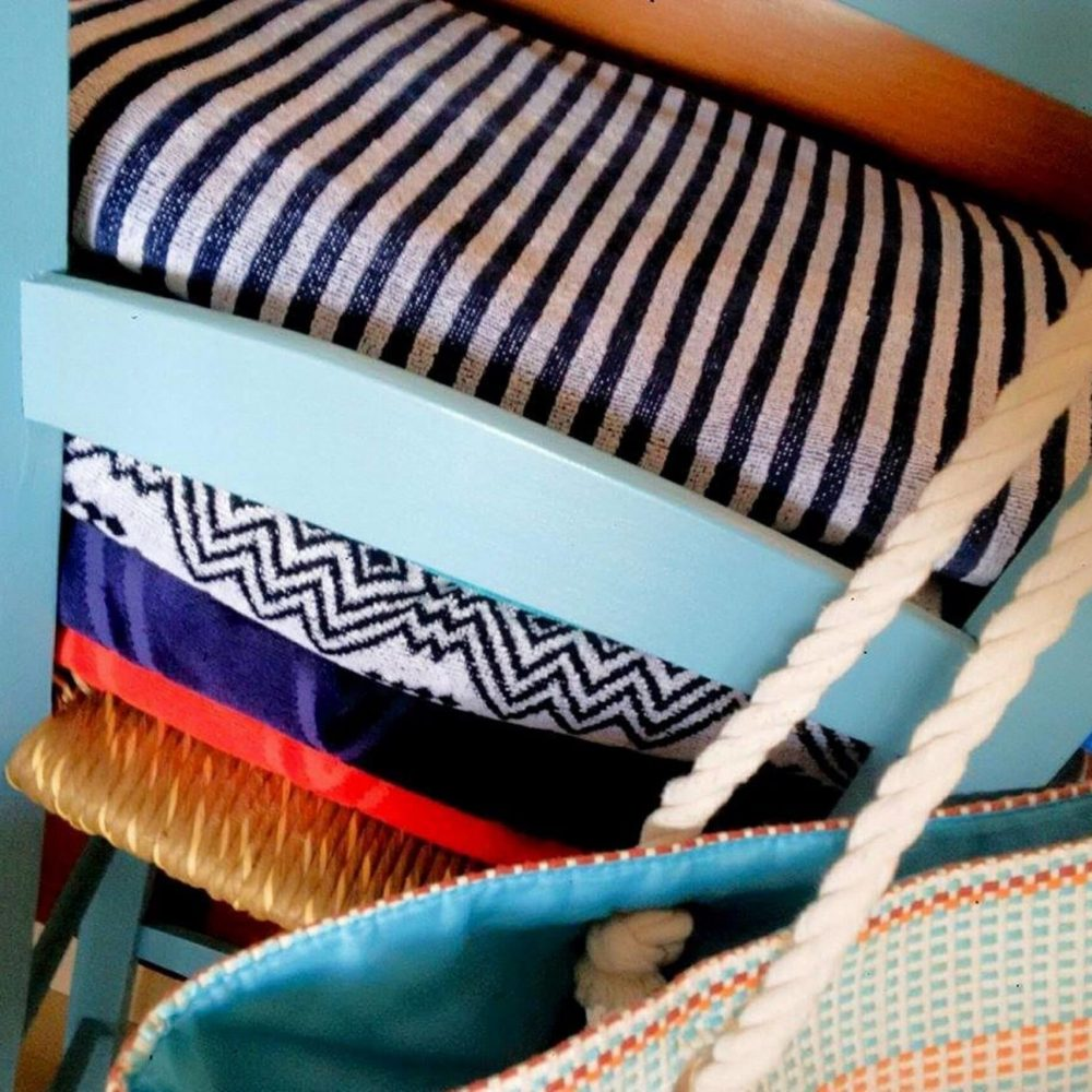 Beach and Pool Towels provided for all guests at Ithaki House